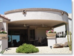 Enjoy the Arizona sun with a patio from Grand Building and Remodeling