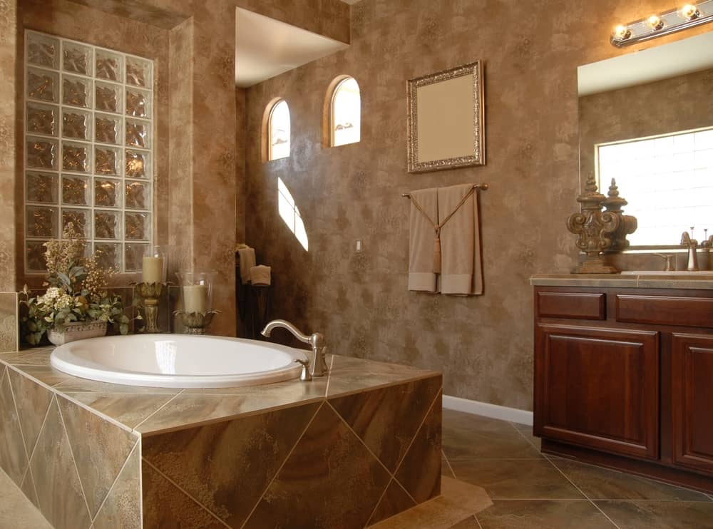 Bathroom remodeling is a specialty of Grand Construction and Builders