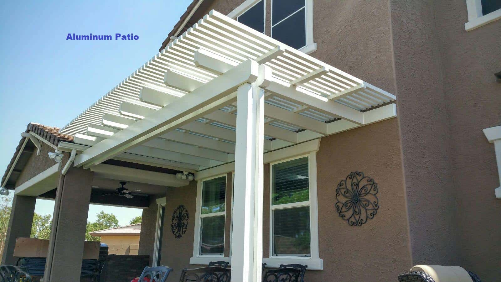 Attached Aluminum Patio